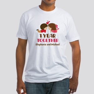 1st Anniversary Personalized 1 year T-Shirt