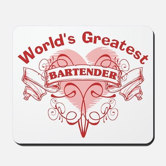 World's Greatest Bartender Mousepad