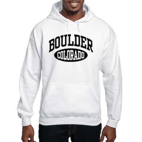 Boulder Colorado Hooded Sweatshirt