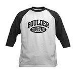 Boulder Colorado Kids Baseball Jersey