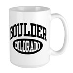 Boulder Colorado Large Mug