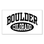 Boulder Colorado Rectangle Sticker 10 pk)