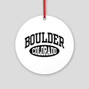 Boulder Colorado Ornament (Round)