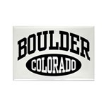 Boulder Colorado Rectangle Magnet