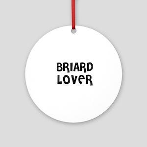 BRIARD LOVER Ornament (Round)