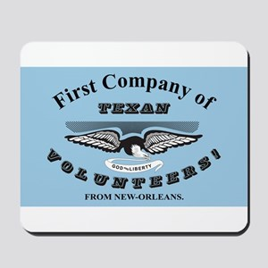 New Orleans Greys Flag Mousepad