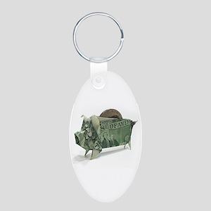 $2 Money Origami Piggy Bank Keychains