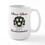 Karl Marx school of Doo Doo E Large Mug