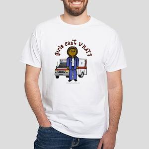Dark EMT-Paramedic White T-Shirt