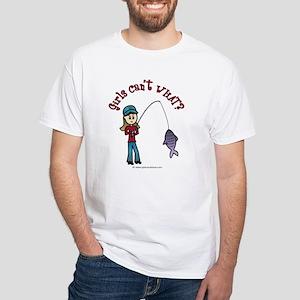 Light Fishing White T-Shirt