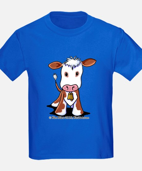 Brown and White COW T