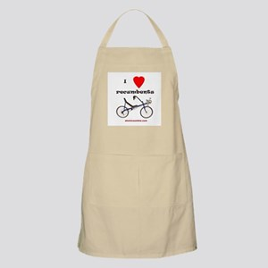 I love recumbents BBQ Apron