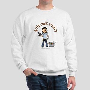 Light Do-It-Yourself Sweatshirt