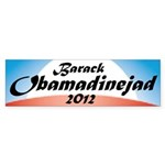 Obamadinejad Bumper Sticker