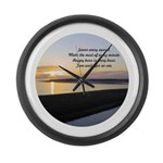 Father Time Large Wall Clock