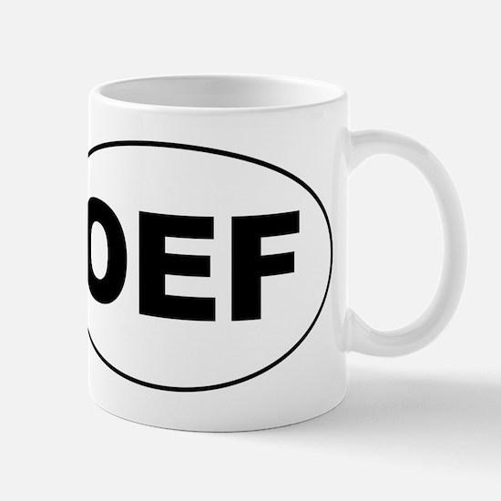 OEF Mug