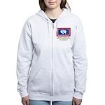 Wyoming Proud Citizen Women's Zip Hoodie