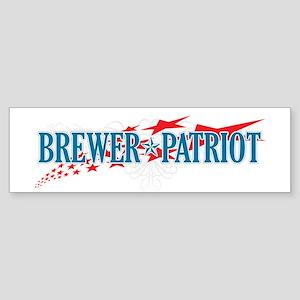 Brewer Patriot Bumper Sticker