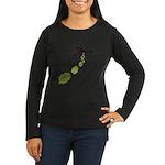 Hop Bomber Women's Long Sleeve Dark T-Shirt
