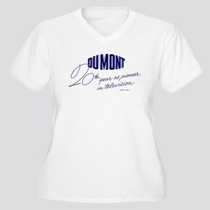 DuMont Women's Plus Size V-Neck T-Shirt