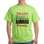 Death Panel Green T-Shirt