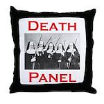 Death Panel Throw Pillow