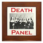 Death Panel Framed Tile