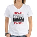 Death Panel Women's V-Neck T-Shirt