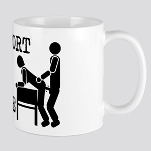 I Support Office Romance Mug