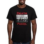 Death Panel Men's Fitted T-Shirt (dark)