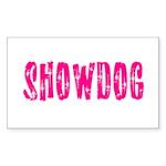 Showdog Rectangle Sticker