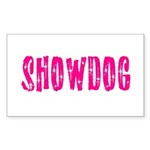 Showdog Rectangle Sticker