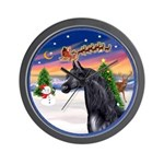 TakeOff2/Horse (Ar-blk) Wall Clock