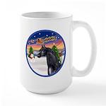 TakeOff2/Horse (Ar-blk) Large Mug