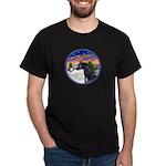 TakeOff2/Horse (Ar-blk) Dark T-Shirt