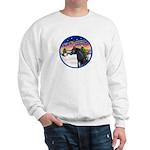 TakeOff2/Horse (Ar-blk) Sweatshirt