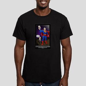 Richard Dawkins (Athei Men's Fitted T-Shirt (dark)