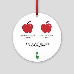 Go Green 1 Ornament (Round)