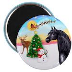 TakeOff2/Horse (Ar-blk) Magnet