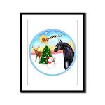 TakeOff2/Horse (Ar-blk) Framed Panel Print