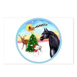 TakeOff2/Horse (Ar-blk) Postcards (Package of 8)