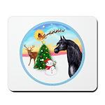 TakeOff2/Horse (Ar-blk) Mousepad