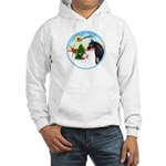 TakeOff2/Horse (Ar-blk) Hooded Sweatshirt
