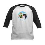 TakeOff2/Horse (Ar-blk) Kids Baseball Jersey