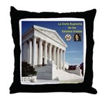 La Corte Suprema y Sonia Throw Pillow