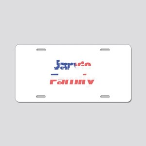Jarvis Family Aluminum License Plate