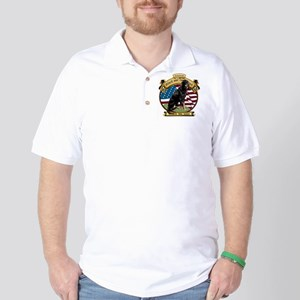 I love my B&T coonhound Golf Shirt