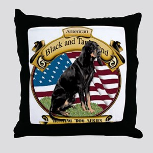 I love my B&T coonhound Throw Pillow