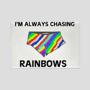 CHASING CHASING CHASING! Rectangle Magnet