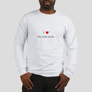 I Heart the unit circle Long Sleeve T-Shirt